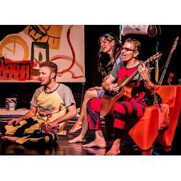 Teatro Infantil - Barracão Cultural estreia Já pra Cama!, no Sesc Pinheiros